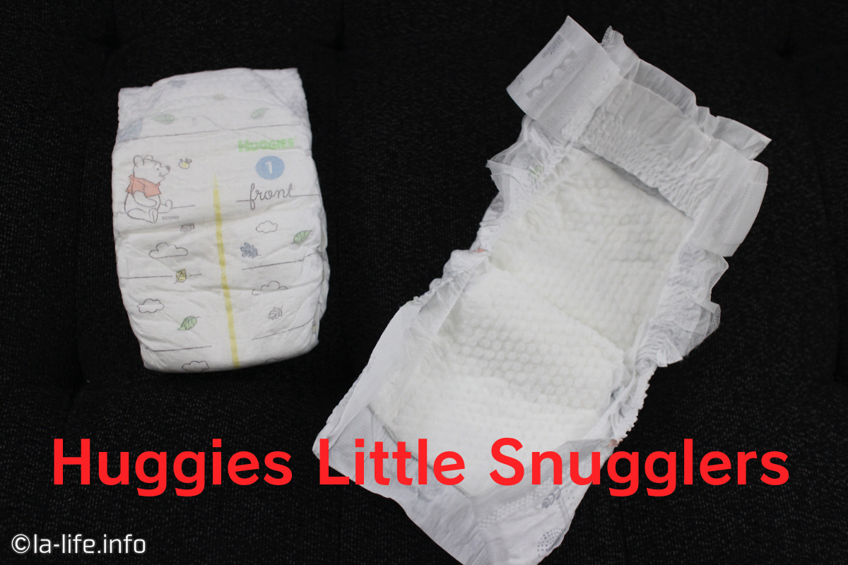 アメリカのおむつ比較!サイズ・値段・品質など:ハギーズ Huggies little snugglers