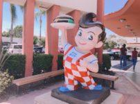 ここが本場!アメリカのビッグボーイ<Bob's Big Boy・カリフォルニア州バーバンク店>シェイク