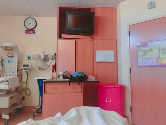 アメリカ出産・実体験ブログ LDR病室の内部