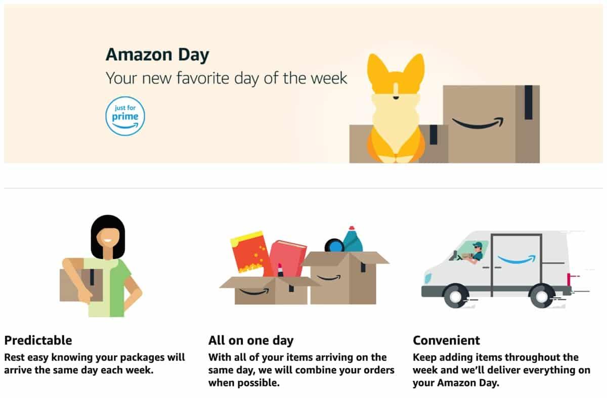 アメリカのアマゾンの配送が便利