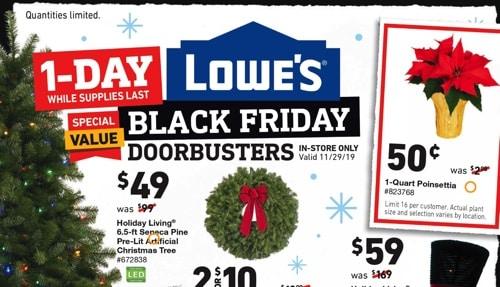 Lowe's(ロウズ)のブラックフライデーセール
