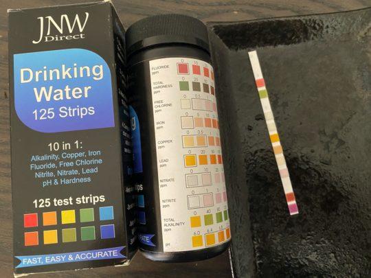 アメリカの水質テスト・鉛の濃度に注意