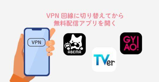 海外から日本のテレビをVPNで見る方法